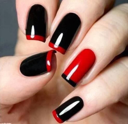 93 Nail Paint Art At Home Easy Nail Art Designs For Beginners At